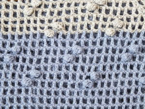 Crocheting Nubs on Drawn-Thread Work: 2 Options. Livemaster - handmade