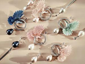 Анонс новых украшений — невесомые серьги. Ярмарка Мастеров - ручная работа, handmade.