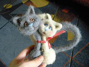 Мастер класс по созданию парных кошек. Ярмарка Мастеров - ручная работа, handmade.