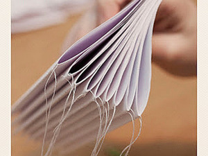 Быстрый переплет с помощью швейной машинки!. Ярмарка Мастеров - ручная работа, handmade.