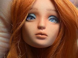 Делаем вставные глазки для кукол. Ярмарка Мастеров - ручная работа, handmade.