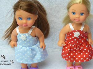 Видео мастер-класс: шьем сарафан для куклы Эви. Ярмарка Мастеров - ручная работа, handmade.