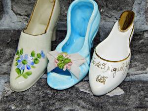 Винтажные коллекционные туфельки. Ярмарка Мастеров - ручная работа, handmade.