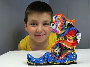 Создаем пирамидки из термомозаики. Ярмарка Мастеров - ручная работа, handmade.