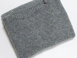 Начинаем совместное вязание пуловера. Ярмарка Мастеров - ручная работа, handmade.