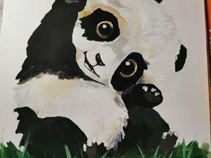 Как нарисовать панду?. Ярмарка Мастеров - ручная работа, handmade.
