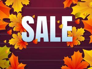 Ноябрьский SALE!!! С 17 по 30 ноября скидки от 10% до 40%!. Ярмарка Мастеров - ручная работа, handmade.