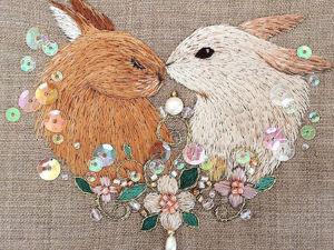 Magic Embroidery by Mayuka Morimoto Oyanagi. Livemaster - handmade
