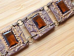 Создаём комплект «Династия»: милый сердцу старый браслет обретает новую жизнь. Ярмарка Мастеров - ручная работа, handmade.