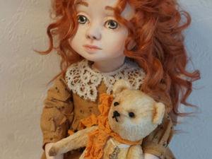 Кукла на Новый год. Ярмарка Мастеров - ручная работа, handmade.