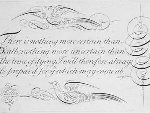 Искусство красивого письма в 18 веке. Ярмарка Мастеров - ручная работа, handmade.