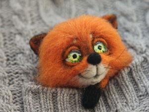Новая брошечка лиса в магазине!. Ярмарка Мастеров - ручная работа, handmade.