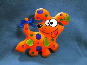 Расписываем собачку Карамельку. Ярмарка Мастеров - ручная работа, handmade.