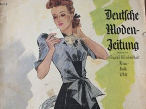 Очень старый немецкий модный журнал -5 /1939 год. Ярмарка Мастеров - ручная работа, handmade.