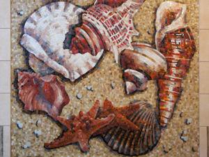 Мое мозаичное панно теперь в Оренбурге. Ярмарка Мастеров - ручная работа, handmade.