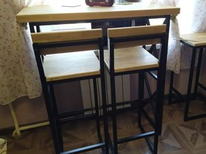 Каким должен быть стол у окна на кухне. Ярмарка Мастеров - ручная работа, handmade.