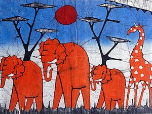 Африканский батик. История и развитие.. Ярмарка Мастеров - ручная работа, handmade.