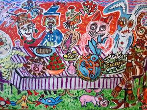 «Завтрак ночных кошмаров»  приглагает за стол :). Ярмарка Мастеров - ручная работа, handmade.