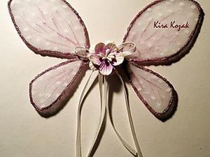 Создаем крылья феи для игрушки. Ярмарка Мастеров - ручная работа, handmade.