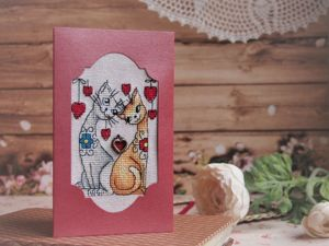 Открытки на любовную тематику!. Ярмарка Мастеров - ручная работа, handmade.