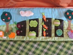 В подарок малышу: делаем развивающий коврик-трансформер. Часть 2. Ярмарка Мастеров - ручная работа, handmade.