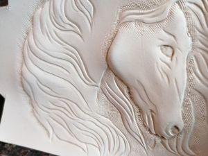 Тиснение на коже растительного дубления. Ярмарка Мастеров - ручная работа, handmade.