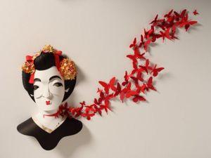 Бумажные скульптуры Шер Кристофер. Ярмарка Мастеров - ручная работа, handmade.