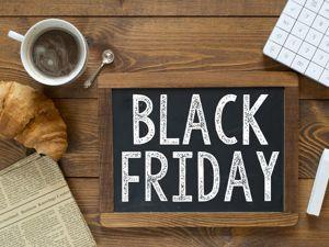 Черная пятница — большая распродажа магазина. Ярмарка Мастеров - ручная работа, handmade.