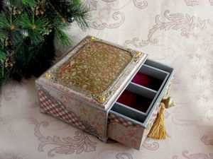 Дополнительные фото — Комодик для украшений  «Воспоминания». Ярмарка Мастеров - ручная работа, handmade.