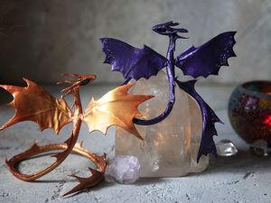 Маленькие драконы в наличии. Ярмарка Мастеров - ручная работа, handmade.