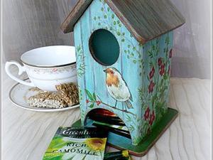 Делаем чайный домик с дощатой крышей. Ярмарка Мастеров - ручная работа, handmade.