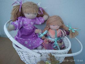 Распродажа! Вальдорфские куклы за 1100 руб! Скидка около  40  %. Ярмарка Мастеров - ручная работа, handmade.