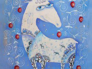 Сказочный олень. Ярмарка Мастеров - ручная работа, handmade.