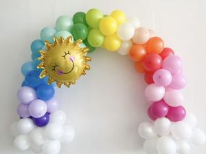 Делаем гирлянду из воздушных шаров. Ярмарка Мастеров - ручная работа, handmade.