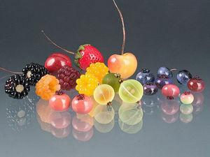 Sunny Lampwork Jewelry by Elizabeth Johnson. Livemaster - handmade