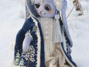 Скидка на новогодних зайцев. Ярмарка Мастеров - ручная работа, handmade.