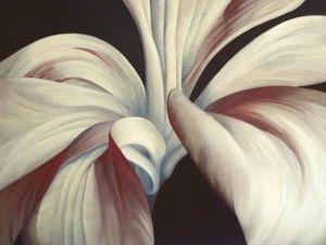 Удивительные картины-цветы художника Deborah Bigeleisen. Ярмарка Мастеров - ручная работа, handmade.