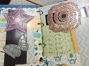 Делаем папку-хранитель ножей для вырубки: утилизируем остатки скрап-бумаги. Ярмарка Мастеров - ручная работа, handmade.