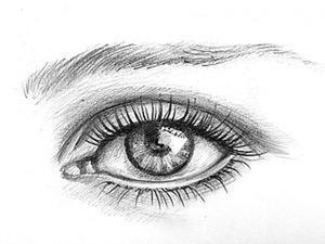 Видео мастер-класс: как нарисовать глаз человека. Ярмарка Мастеров - ручная работа, handmade.