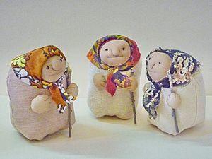 Шьем симпатичную бабулю из ткани. Ярмарка Мастеров - ручная работа, handmade.