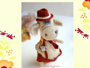 Вяжем шляпку для игрушки. Ярмарка Мастеров - ручная работа, handmade.