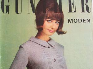 Gunther Moden -старый журнал мод- 10/ 1965. Ярмарка Мастеров - ручная работа, handmade.
