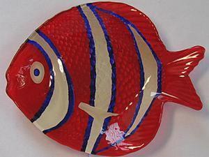 """Расписываем тарелку """"Рыба"""". Ярмарка Мастеров - ручная работа, handmade."""