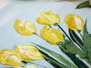 Видео мастер-класс: тюльпаны в стиле Джастина Геффри. Ярмарка Мастеров - ручная работа, handmade.