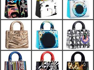 Культовая сумка Lady Dior. Ярмарка Мастеров - ручная работа, handmade.