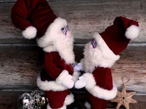 Шьем Санта Клауса. Ярмарка Мастеров - ручная работа, handmade.