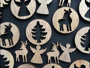 Подарок к покупке. Рождественский новогодний декор. Ярмарка Мастеров - ручная работа, handmade.