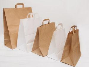 Чем крафт пакеты лучше полиэтиленовых?. Ярмарка Мастеров - ручная работа, handmade.
