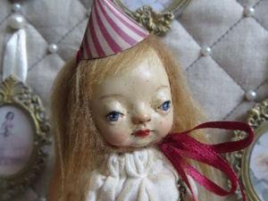 «Цирк приехал...»  Клоунесса Алиса. Зазеркалье. Ярмарка Мастеров - ручная работа, handmade.