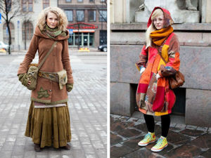 Finnish Fashion or This Fantastic-mad Helsinki. Livemaster - handmade